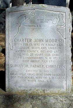 Charter John Moor, II