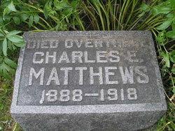 Pvt Charles Edward Matthews