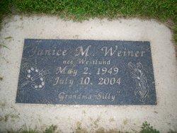 Janice M. <i>Westlund</i> Weiner