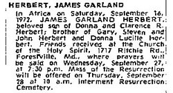 James Garland Herbert